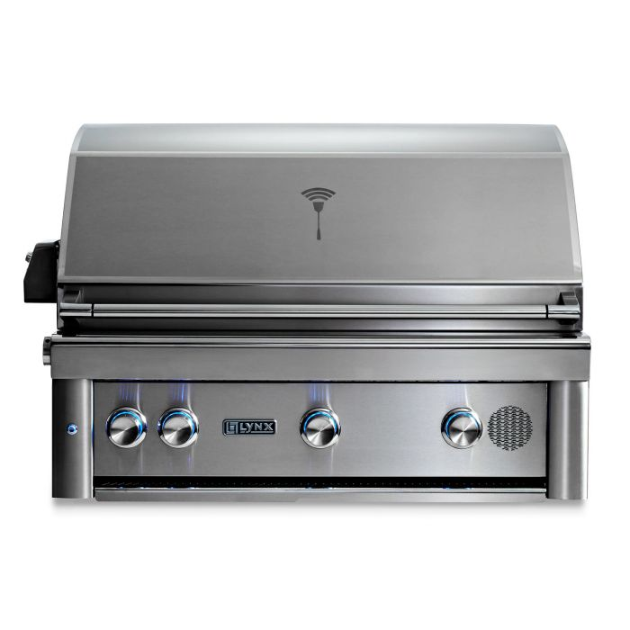Smart Grill by Lynx 36-Inch Built In with Rotisserie