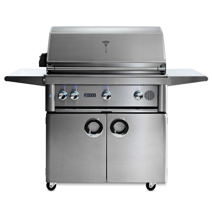 Smart Grill by Lynx 36-Inch Freestanding with Rotisserie