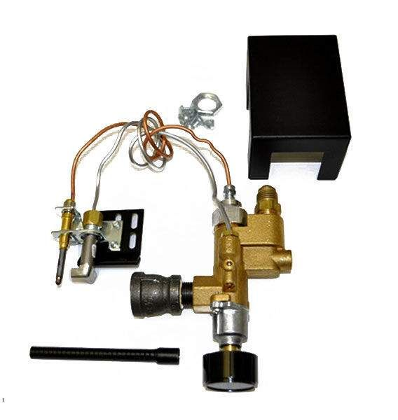 Copreci Fully Assembled Rear Inlet Safety Pilot Kit, Natural Gas
