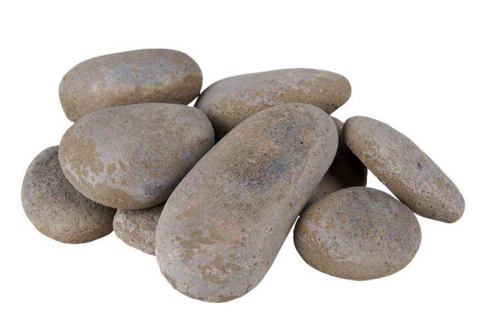 Real Fyre STN-10S River Rock Fyre Stones, Slate