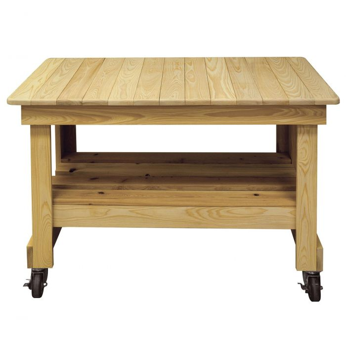 The Primo Prep Table is Handcrafted and Weather Resistant