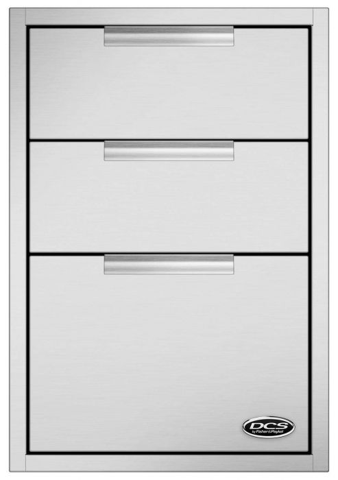 DCS Triple Tower Drawer, 20-Inch