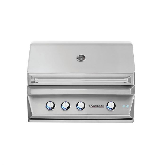 Twin Eagles 36 Inch Built-In Gas Grill With Infrared Rotisserie