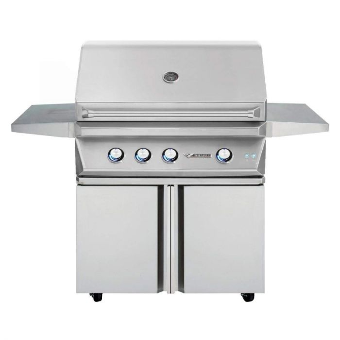 Twin Eagles 36 Inch Gas Grill On Cart with Doors