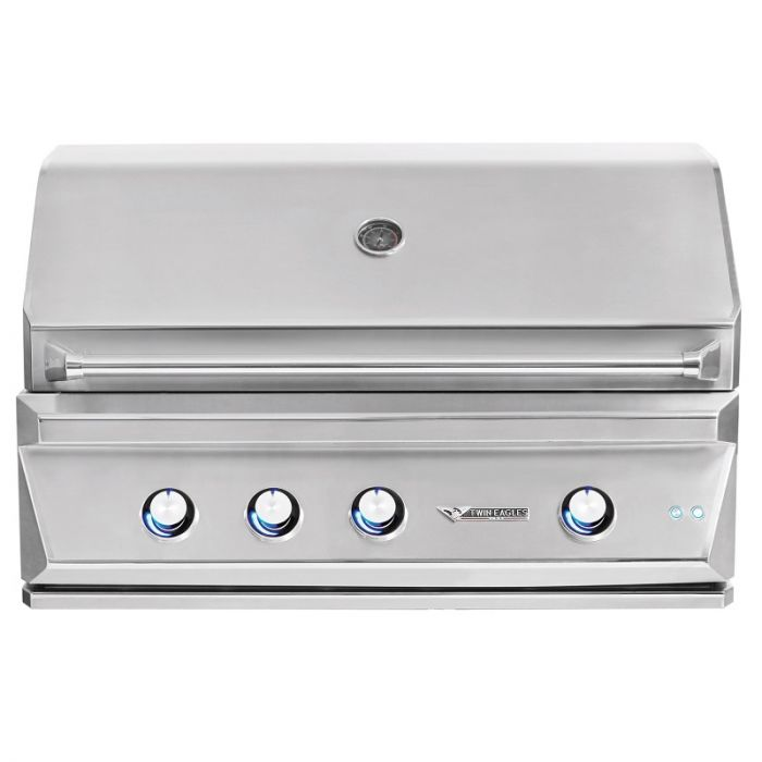 Twin Eagles 42 Inch Built-In Gas Grill With Infrared Rotisserie