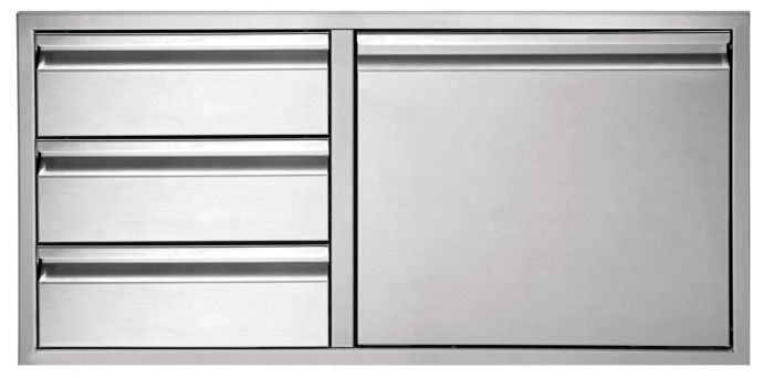 Twin Eagles 42 Inch 3-Drawer-Door Combo