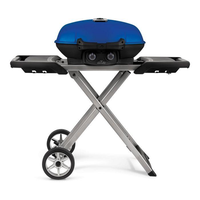 Napoleon TravelQ Portable Grill On Foldable Cart