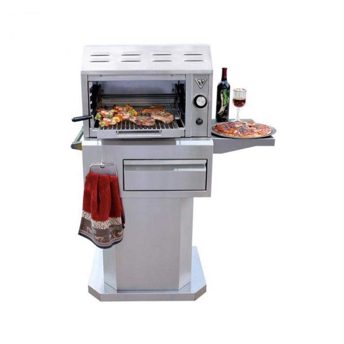 Twin Eagles 24 Inch Gas Salamangrill On Pedestal