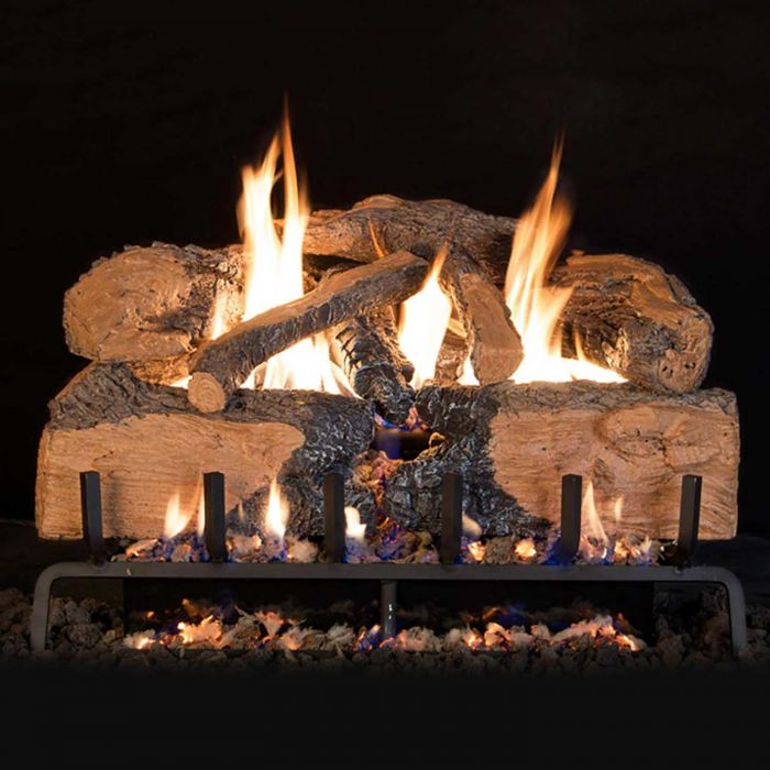 Real Fyre Charred Angel Split Oak Gas Log Set