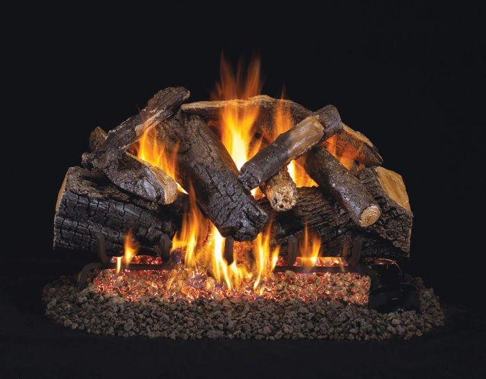 Real Fyre CHMJ Charred Majestic Oak Vented Gas Log Set