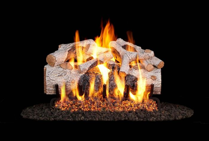 Real Fyre CHMBW Charred Mountain Birch Vented Gas Log Set