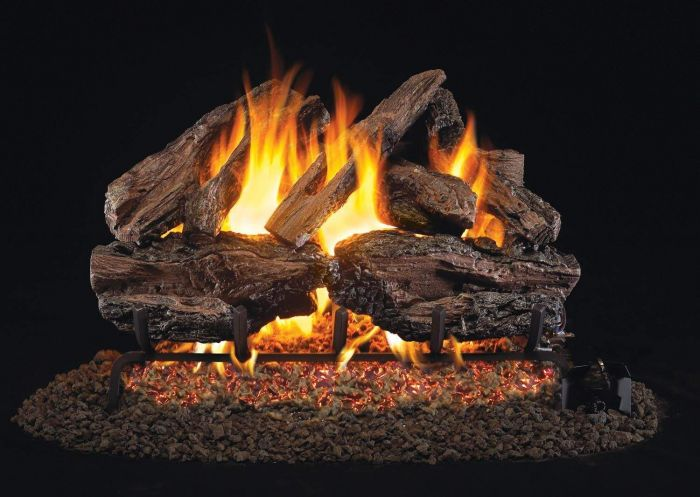 Real Fyre CHRED Charred Red Oak Vented Gas Log Set