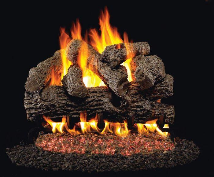 Real Fyre B Royal English Oak Vented Gas Log Set