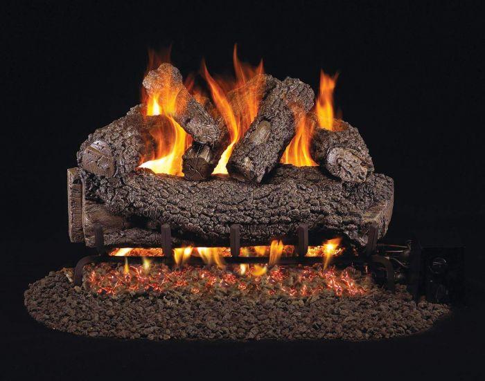 Real Fyre FO Forest Oak Vented Gas Log Set