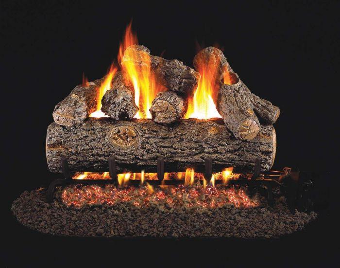 Real Fyre RDP Golden Oak Designer Plus Vented Gas Log Set
