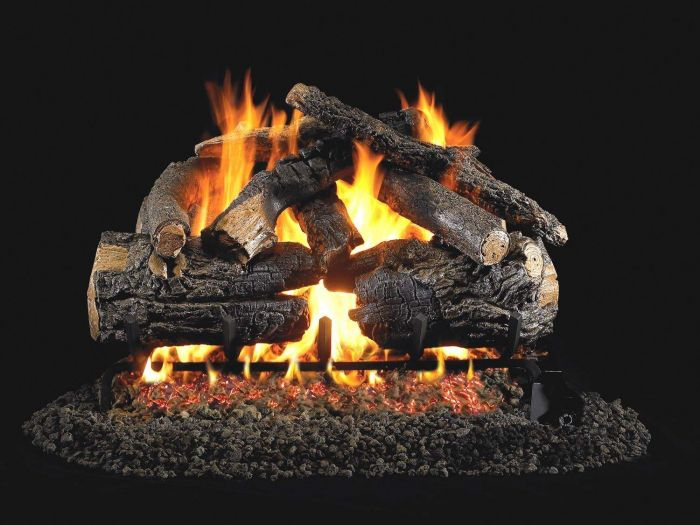 Real Fyre PN Pioneer Oak Vented Gas Log Set