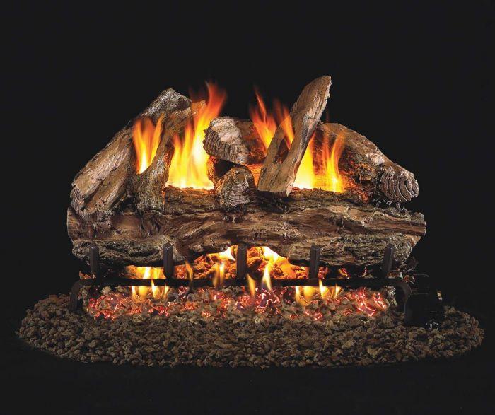 Real Fyre RED Red Oak Vented Gas Log Set
