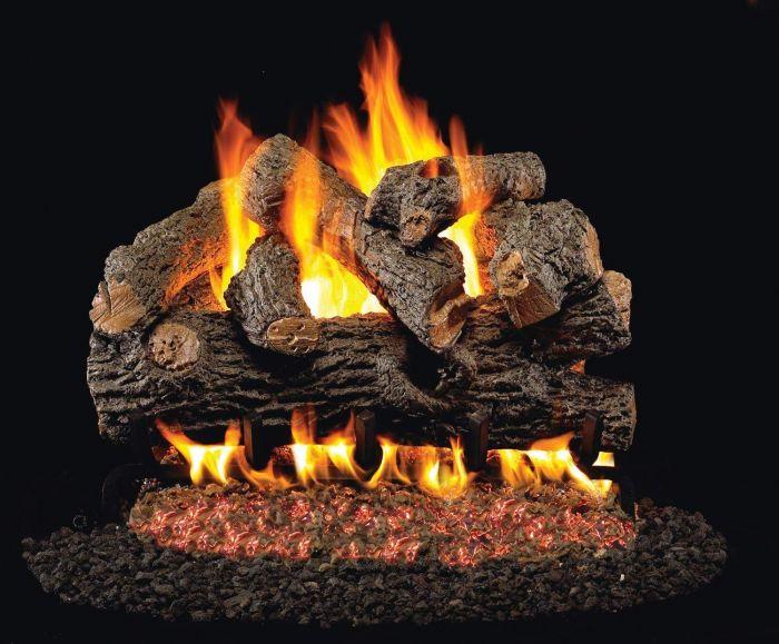 Real Fyre BD Royal English Oak Designer Vented Gas Log Set