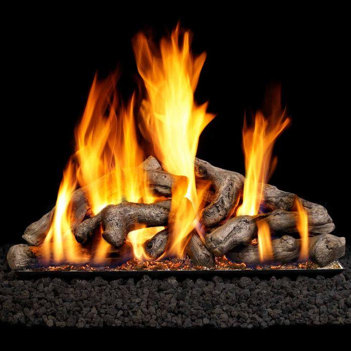Real Fyre SDW Shoreline Driftwood Vented Gas Log Set, ANSI Certified