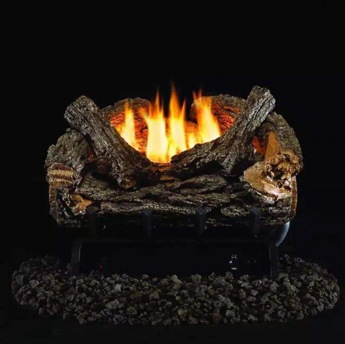 Real Fyre VO8E Valley Oak Vent Free Gas Log Set