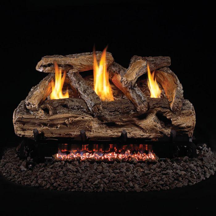 Real Fyre S9 Split Oak Vent Free Gas Log Set