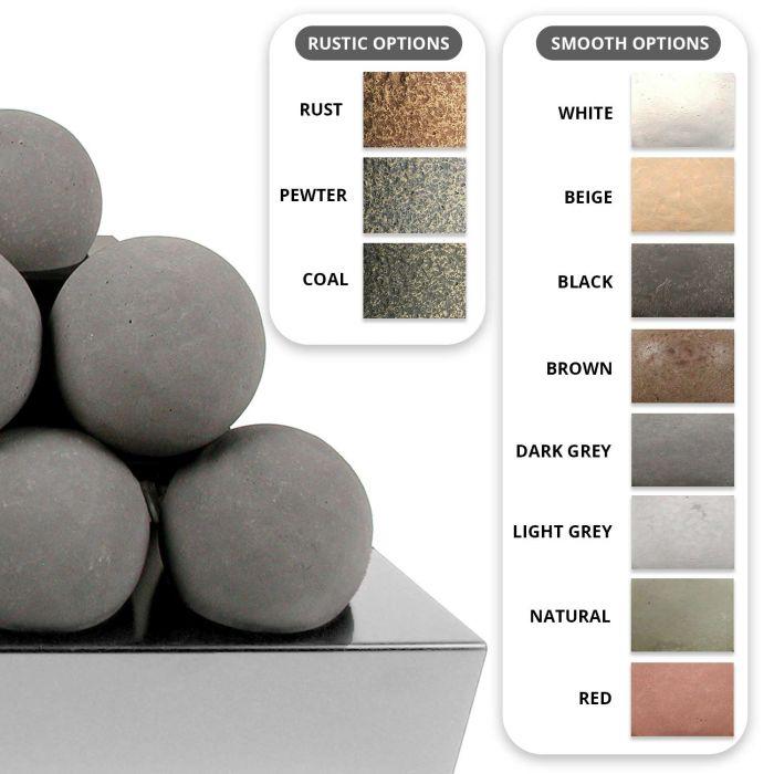 Alterna Ventless FireBalls See-Thru Stainless Steel 30-Inch Burner Kit