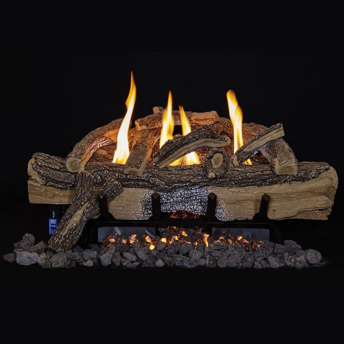 Grand Canyon Split Oak Vent Free Gas Log Set