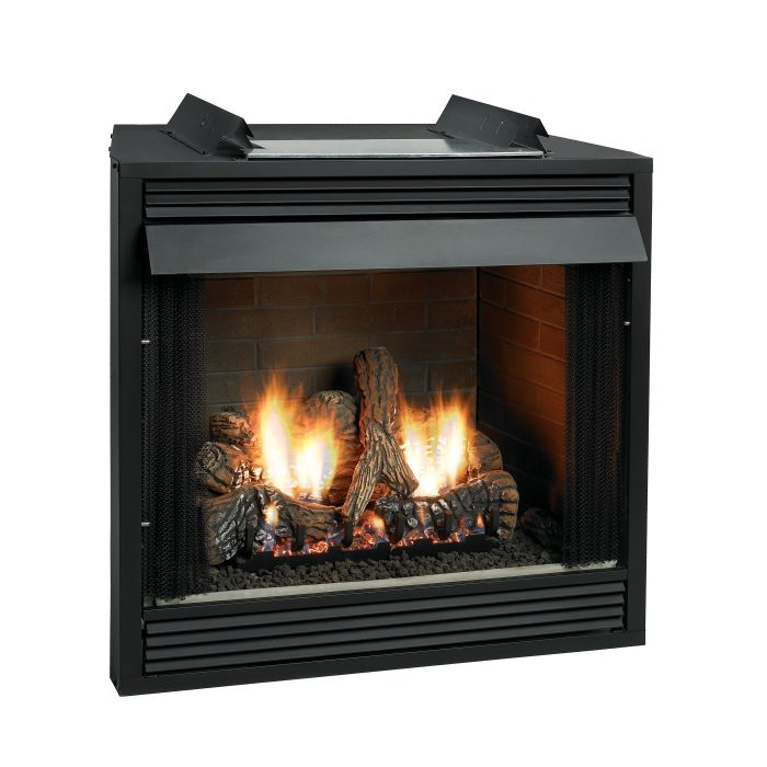 White Mountain Hearth VFD32FB Breckenridge Ventless Deluxe Firebox