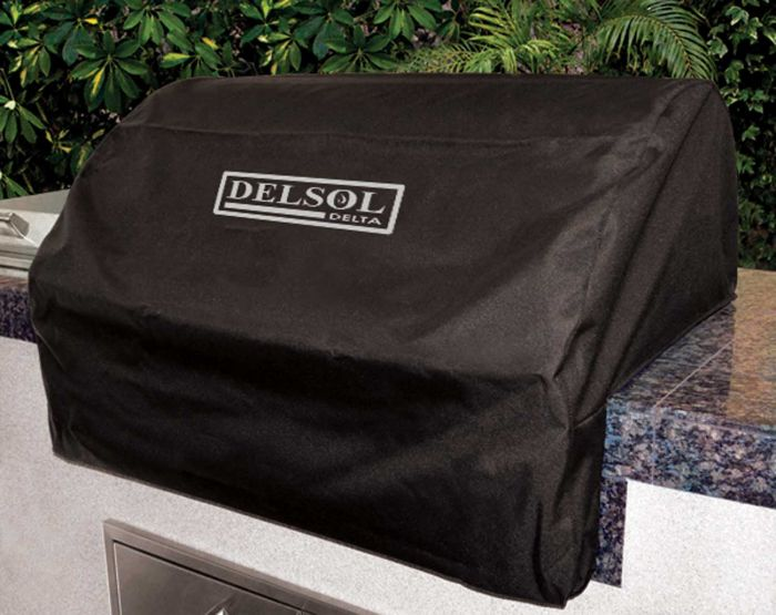 Delsol DSVC40 Vinyl Cover for DBSQ40R Built-In Grill