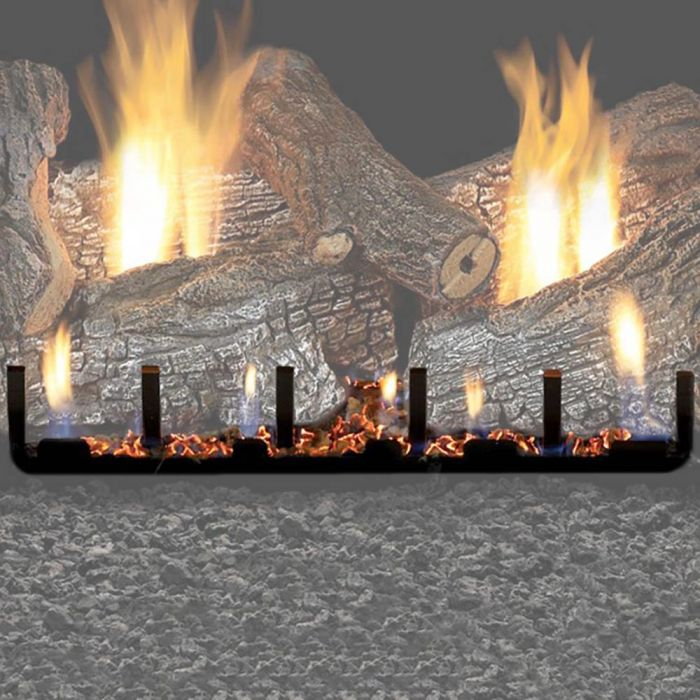 White Mountain Hearth VSRxx Vented Slope Glaze Burner with Millivolt Valve