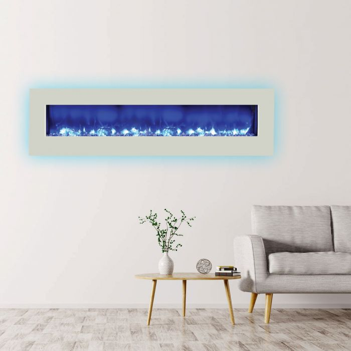 Amantii WM-BI Fire & Ice Series Wall Mount/Built-In Electric Fireplace