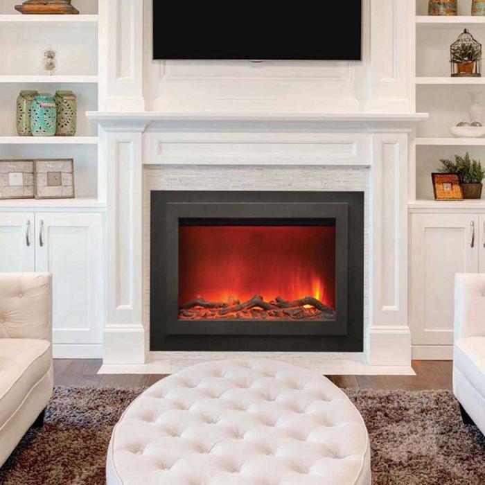 Amantii ZC-FM-45 Zero Clearance Electric Fireplace with Surround, 45-Inch
