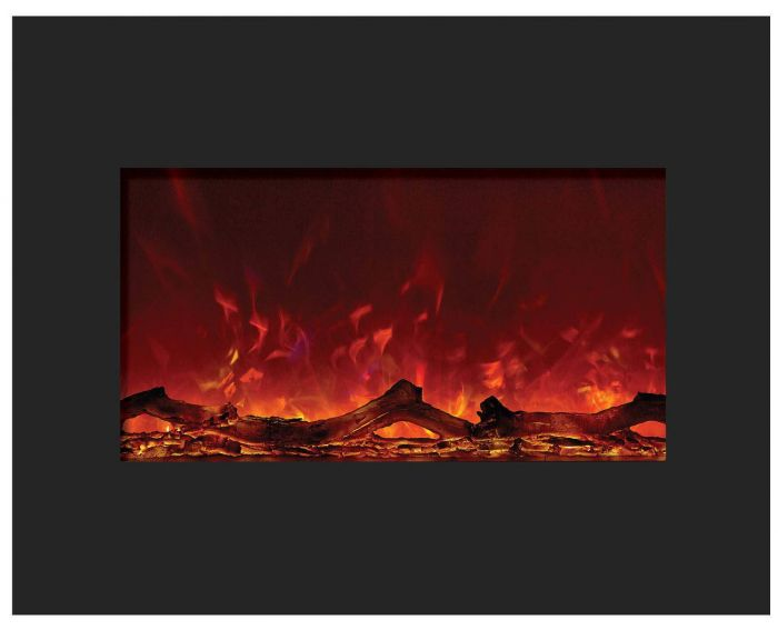 Amantii ZECL-26-2923 Zero Clearance Series Built-In Electric Fireplace, 26 Inch