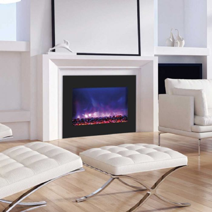 Amantii ZECL-BG Zero Clearance Series Built-In Electric Fireplace