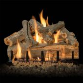 Grand Canyon Arizona Juniper Double Sided Vented Gas Log Set