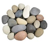 American Fyre Designs STN-20 River Rock Fyre Stones, 20-Pieces
