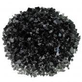 American Fireglass 10-Pound Classic Fire Glass, 1/4 Inch, Black