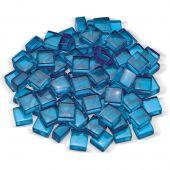 American Fireglass 1/2-Inch Fireglass 2.0, 10-Pounds, Pacific Blue Luster