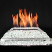 Alterna Ventless FireGlitter Stainless Steel 24-Inch Burner Kit