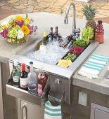 Alfresco AGBC-24 Versa Sink and Beverage Center, 24-Inch