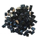 Amantii 1/4-Inch Charcoal Reflective Fire Glass, 5-Pounds