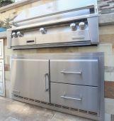 Alfresco ARXE Under-Grill Refrigerator