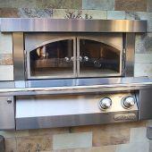 Alfresco AXE-PZA-BI Built-In Pizza Oven, 30-Inch