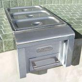 Alfresco AXEFWx Food Warmer, 14-Inch