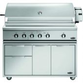 DCS Traditional 48-Inch Gas Grill On Cart with Rotisserie