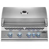 Napoleon BIG32RBSS Stainless Steel Built-In 700 Series 32-Inch Infrared Rear 4-Burner Gas Grill Head