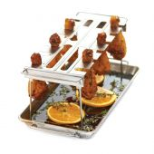 Broil King 64152 Stainless Steel Wing Rack and Pan
