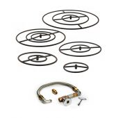 Hearth Products Controls FPS Round Match Light Gas Fire Pit Kit