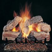 Rasmussen DF-ED-Kit Double Sided Evening Desire Series Complete Outdoor Fireplace Log Set