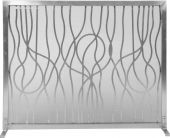 Dagan DG-AHS800 Stainless Steel Fireplace Screen, 39x31-Inches
